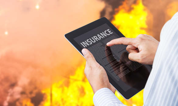 FIRE INSURANCE COVERAGE WHEN FIRE OCCURRED AT OUR PREMISES?